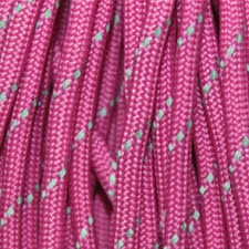 Reflective Deep Pink Paracord Color
