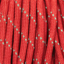 Reflective Red Paracord Color